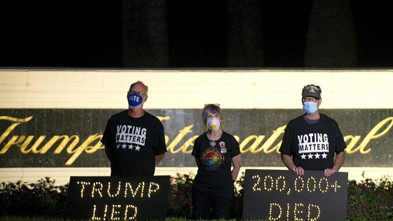 Fast 200.000 Tote: Corona könnte Trump Wiederwahl kosten