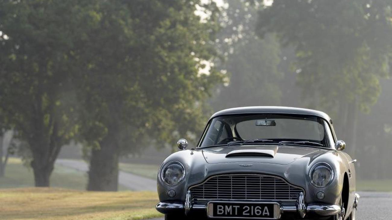 Man Lebt Nur Zweimal James Bonds Aston Martin Db5 Ist Wieder Da Zeit Online