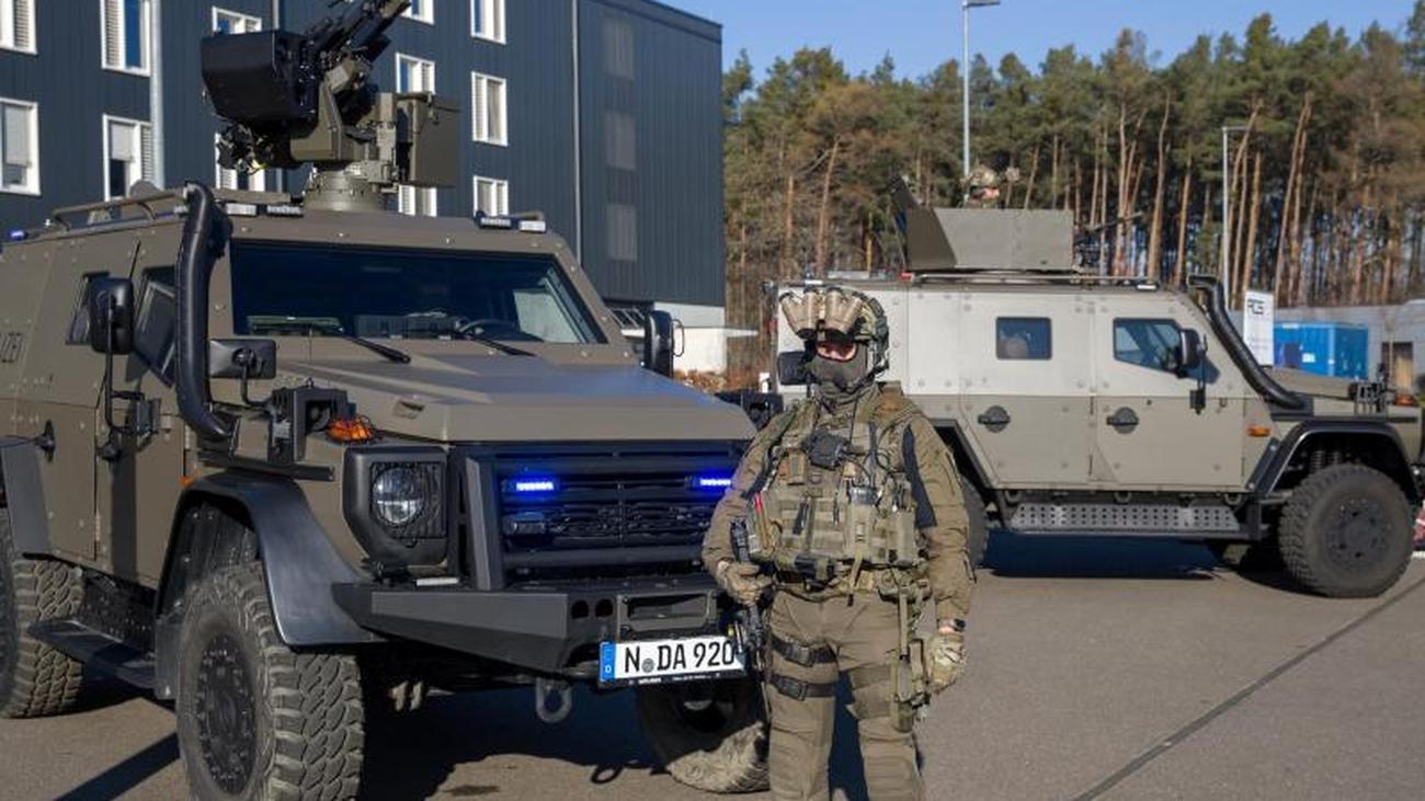 Bayerns Polizei bekommt Panzerfahrzeuge