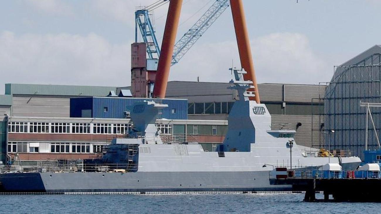 In Deutschland gebautes Kriegsschiff trifft in Israel...