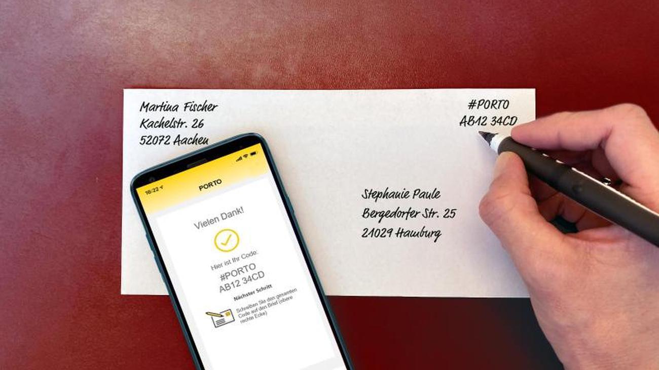 Deutsche Post bietet Frankierung übers Smartphone an