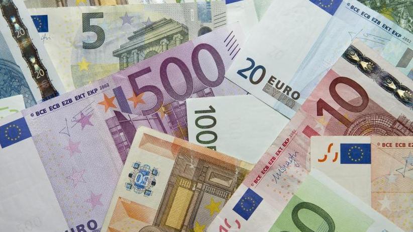 Neues Fünf Euro Stück