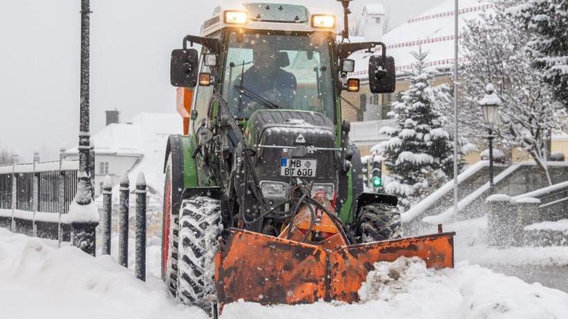 Schnee In Deutschland 2021