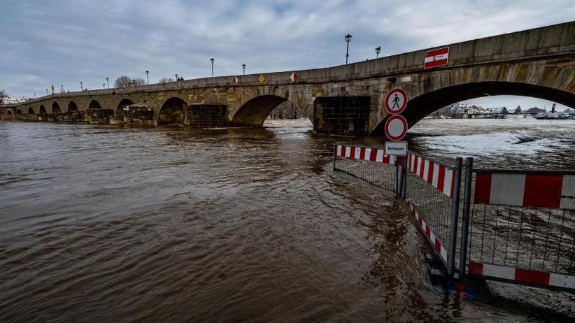Hochwasser Donau 2021