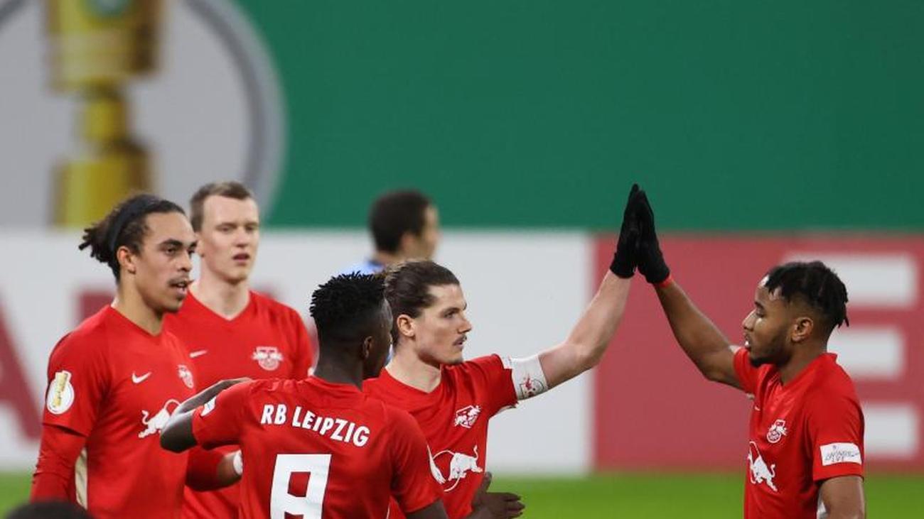Dfb Pokal Rb Leipzig Wolfsburg