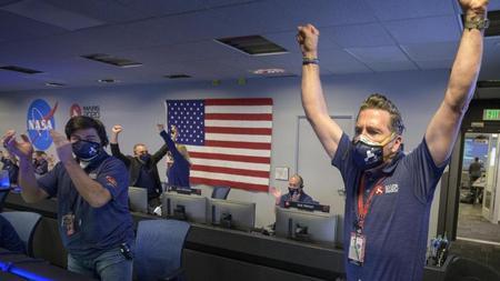 """Bildergebnis für Nasa-Rover """"Perseverance"""" auf dem Mars gelandet"""