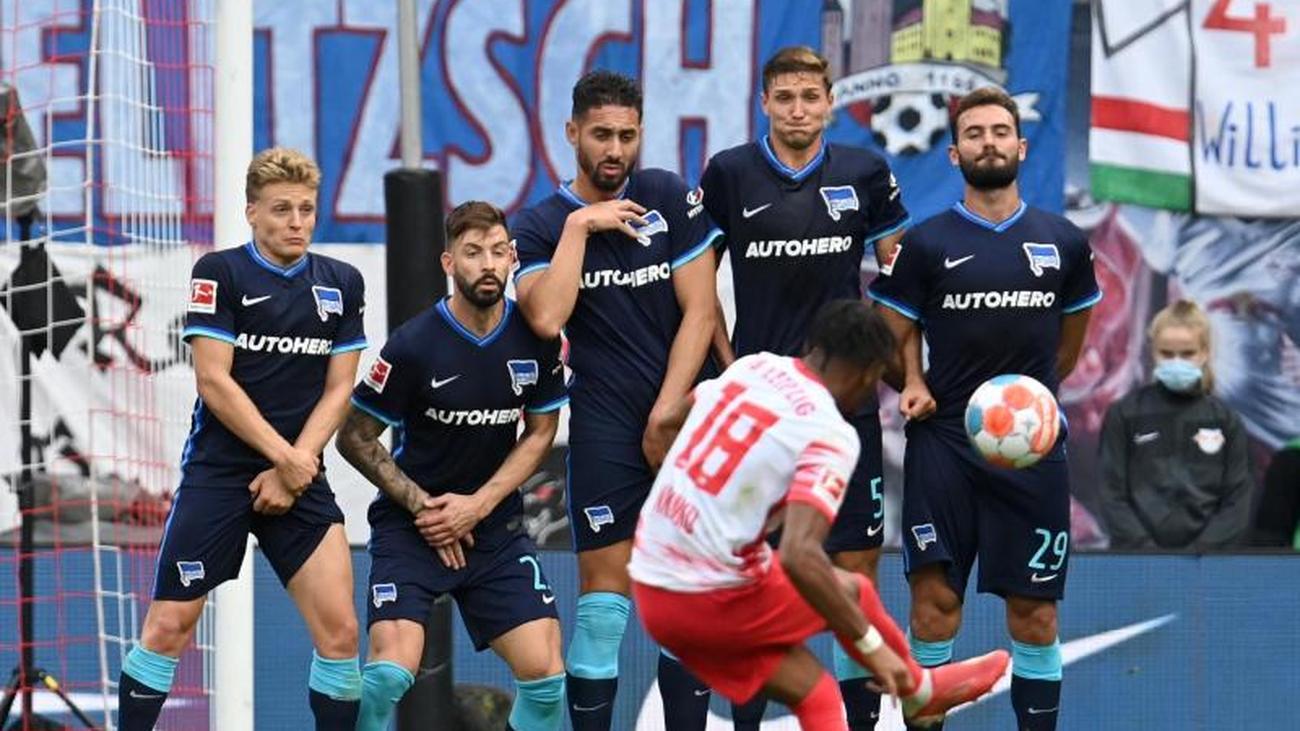 Fußball: RB Leipzig peilt gegen Hertha zweiten Saisonsieg ...