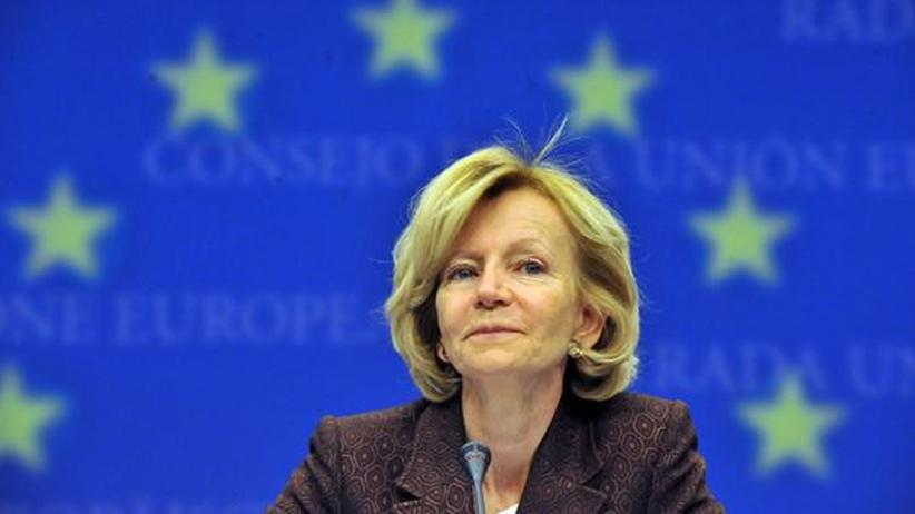 Spaniens Wirtschaftsministerin Elena Salgado