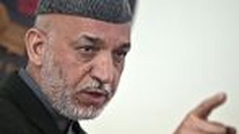 Afghanistan: Hamid Karsai, ein schöner Freund