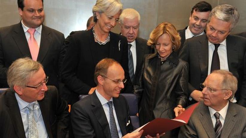 Währungsstabilität: Euro-Finanzminister besiegeln 440-Milliarden-Bürgschaft
