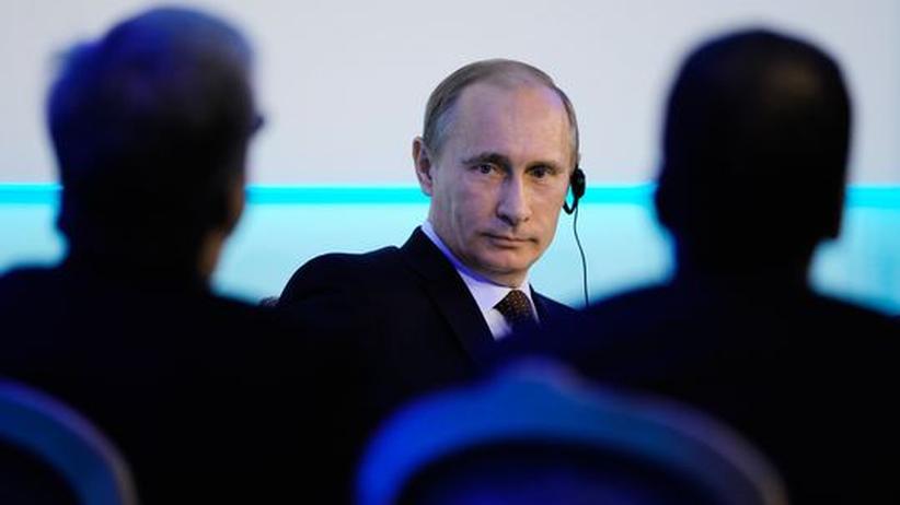 EU-Russland: Putin will bei Europas Energieregeln mitmischen