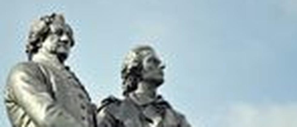 Johann Wolfgang von Goethe und Friedrich Schiller
