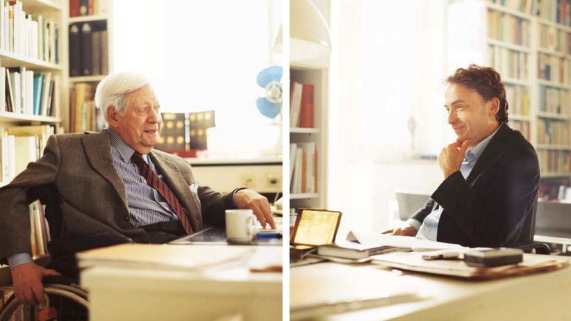 """Fragen an den Altkanzler: """"Ich bin seit mehr als einem halben Jahrhundert ein Grüner"""""""
