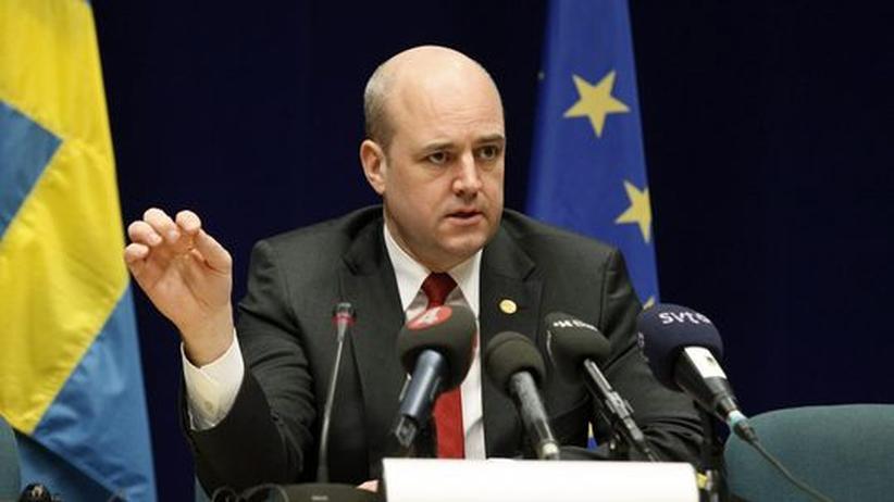 Fredrik Reinfeldt: Schwedens Regierungschef Fredrik Reinfeldt