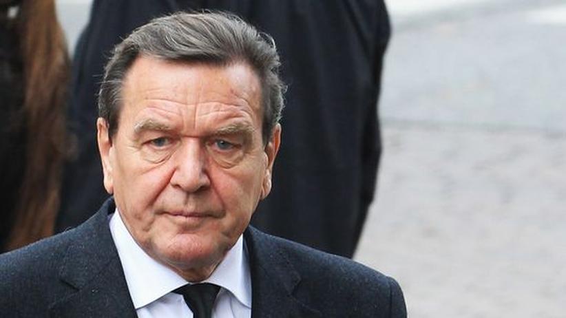 Linke Politik: Altkanzler Schröder warnt Sozialdemokraten vor Hollande
