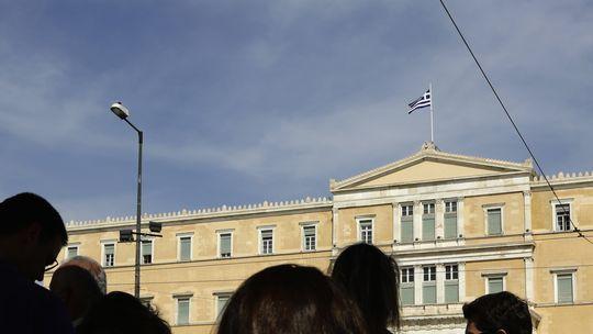 Das griechische Parlament in Athen