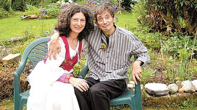 Knud Wollenberger: Knud Wollenberger mit seiner zweiten Frau Christiane