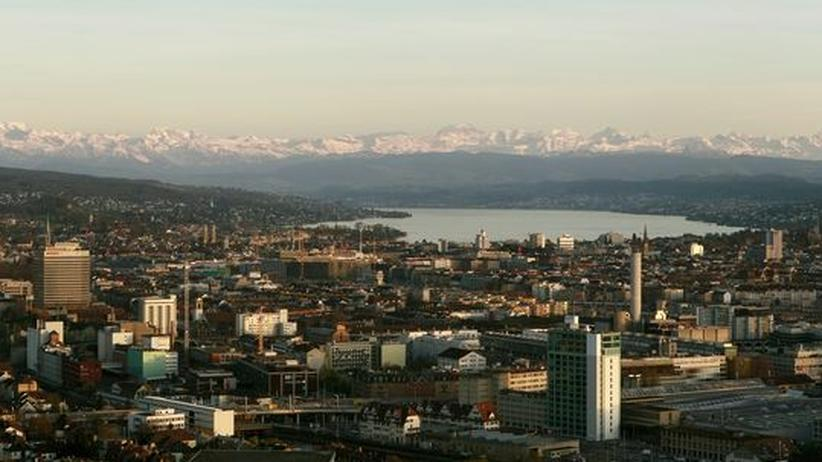 Schweiz: Blick über Zürich (Archivfoto)