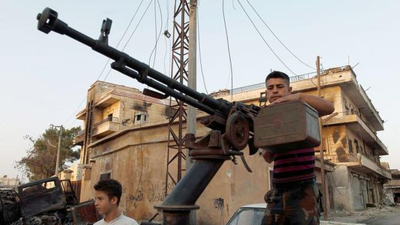Syrien Rebellen Erobern