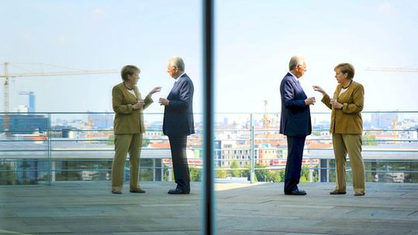 Merkel und Monti: Warme Worte, angeknackstes Verhältnis