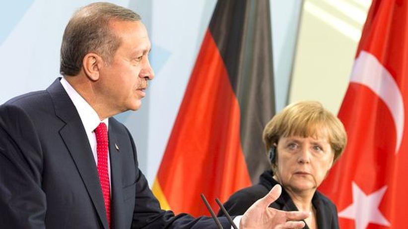 EU-Beitrittsverhandlungen: Erdoğan stellt bei seinem Treffen mit Merkel auf stur