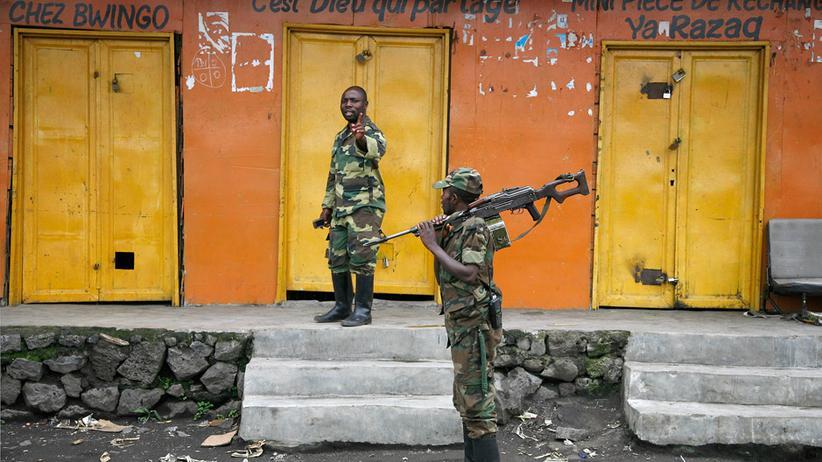 Krieg: Menschen in Ostkongo auf der Flucht