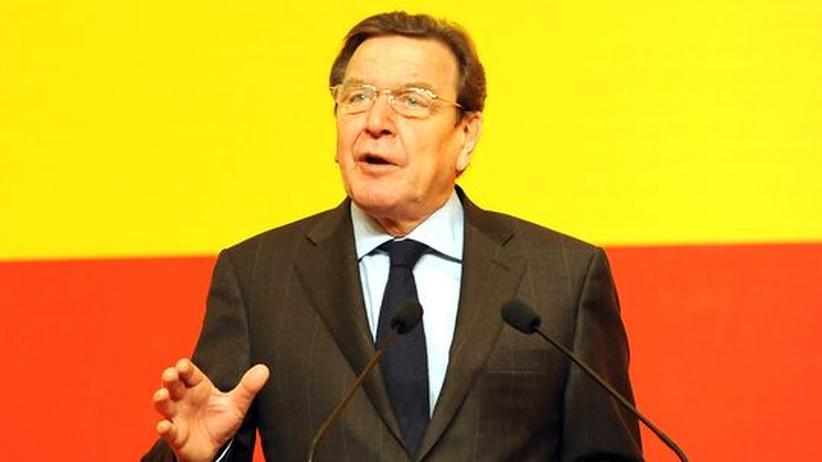 Altkanzler: Gerhard Schröder (am vergangenen Wochenende in Shanghai)