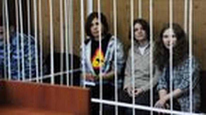 Russland: Pussy Riot will keinen Kommerz