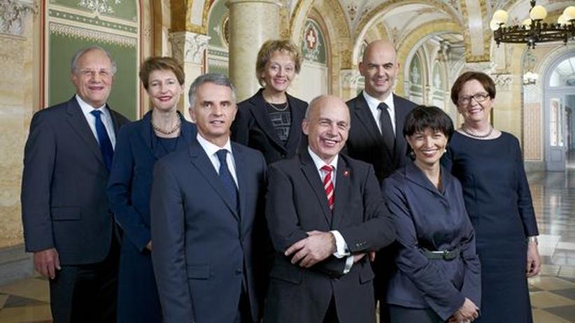 Schweiz: Der Schweizerische Bundesrat 2013
