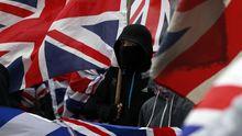 Bilder: Randale für den Union Jack