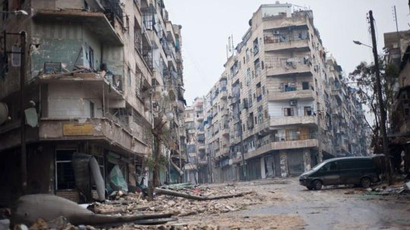 Syrien: In Aleppo gewöhnt man sich an die Schüsse