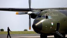 Eine Transall der Bundeswehr