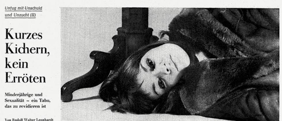 Der ZEIT-Artikel aus Rudolf Walter Leonhardts Serie über Kinder und Sexualität