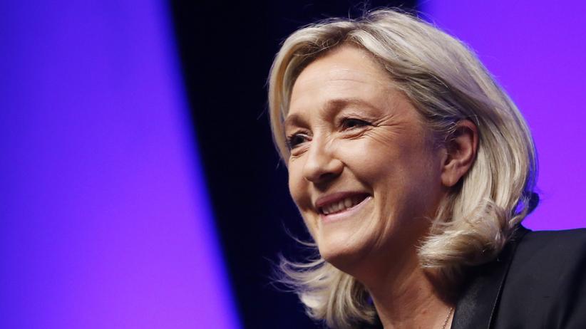 Marine Le Pen, die Parteichefin des rechtsextremen französischen Front National