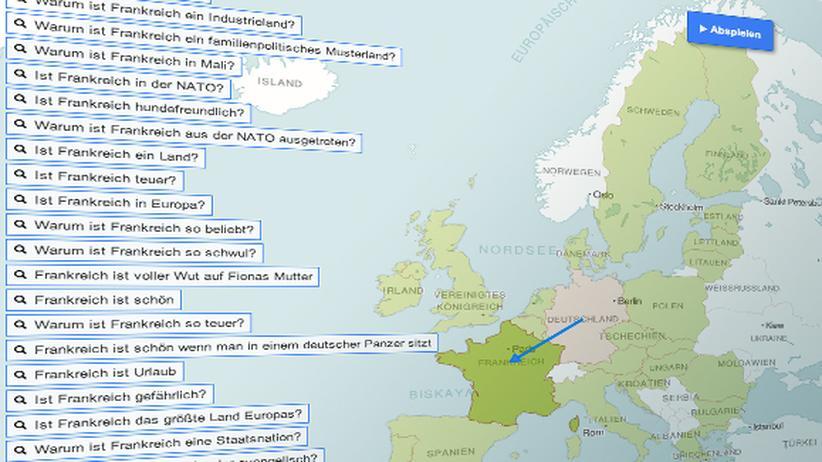 Google-Ergebnisse: Warum sind deutsche Würstchen weiß?