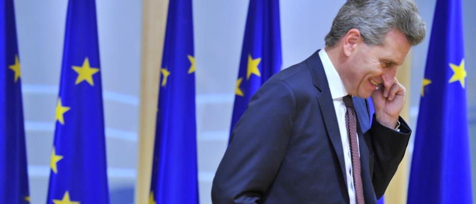 Oettinger EU Brüssel Merkel