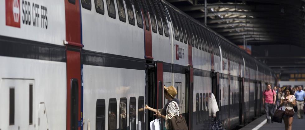 Barrierefreiheit Schweiz Bahn SBB