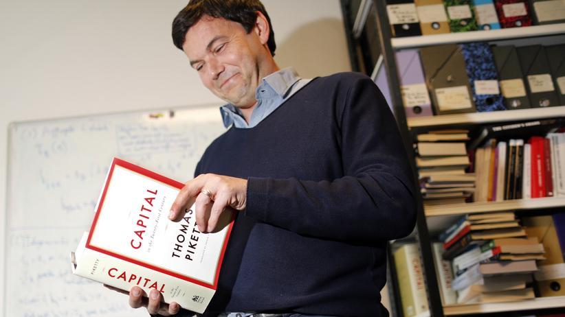 Der Wirtschaftswissenschaftler Thomas Piketty ist Doktorvater des Ökonomen Garbiel Zucman.