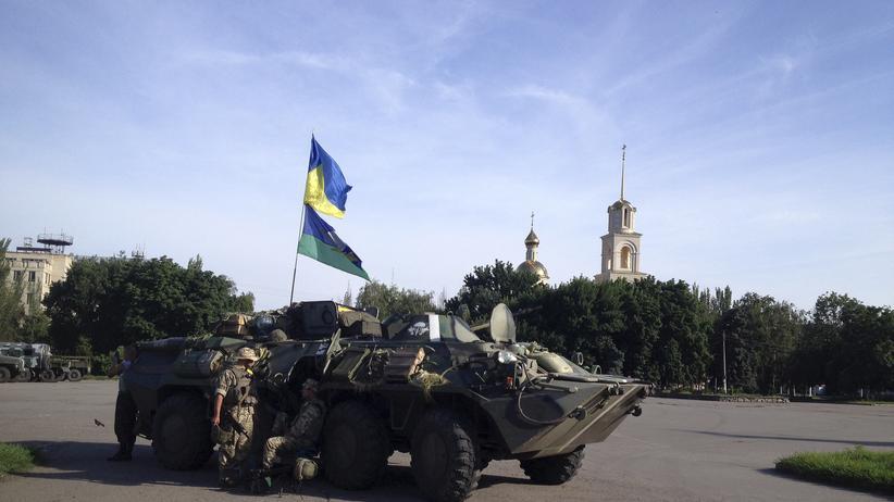 Ukraine-Krise: Ukrainische Armee erobert Slowjansk zurück