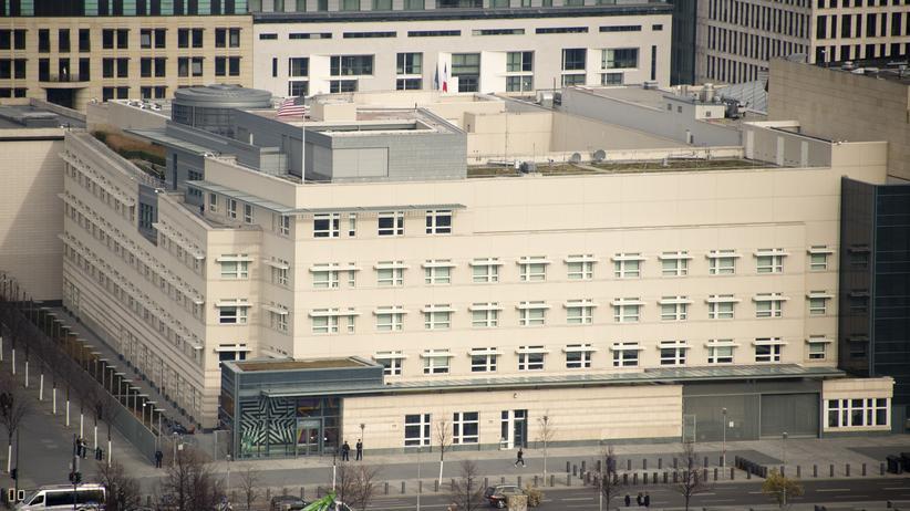 NSA-Affäre: Die Botschaft der USA in Berlin