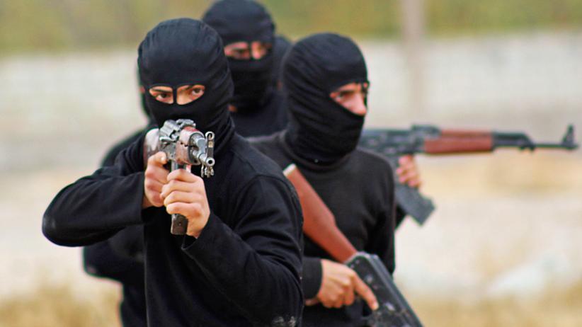 """""""Islamischer Staat"""": Ein Ausbildungscamp für islamistische Kämpfer in der Nähe der syrischen Hauptstadt Damaskus"""