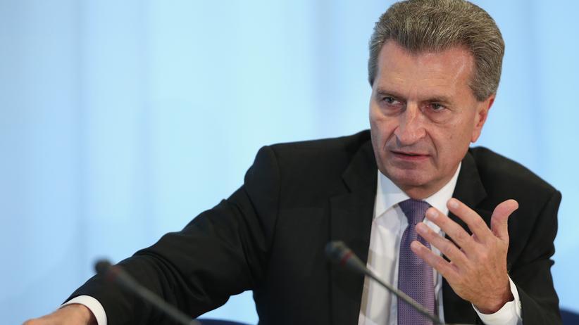 """Günther Oettinger: """"Cameron hätte sich das selbst ausrechnen können"""""""