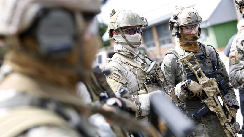 Afghanistan: Mitglieder der Kommando Spezialkräfte (Archivbild)