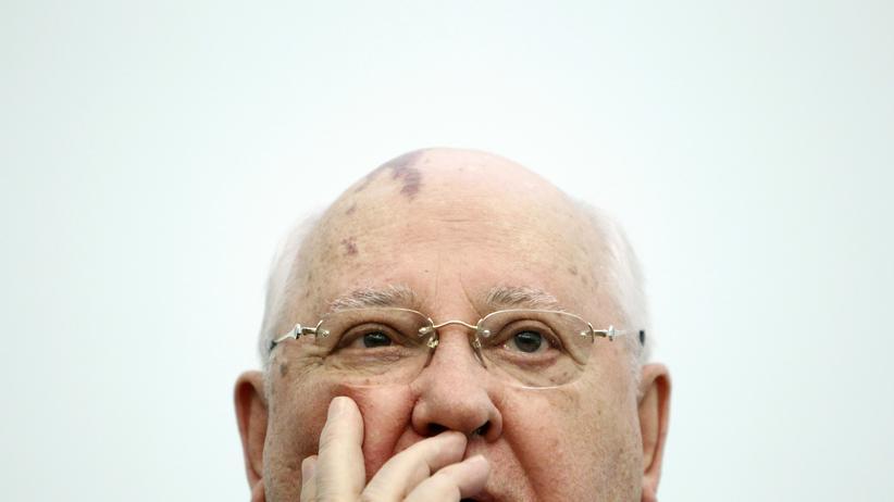 Russland: Der ehemalige Präsident der Sowjetunion und Friedensnobelpreisträger Michail Gorbatschow