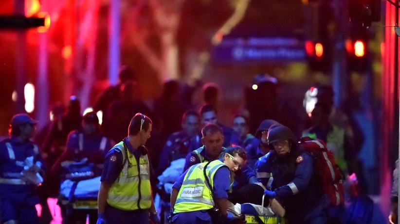 Geiselnahme in Sydney: Schüsse im Café lösten Zugriff aus