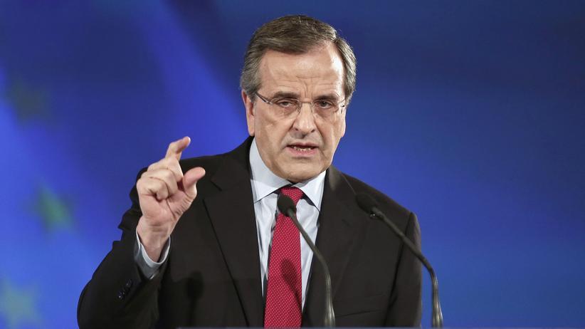 Griechenlands Ministerpräsident Antonis Samaras