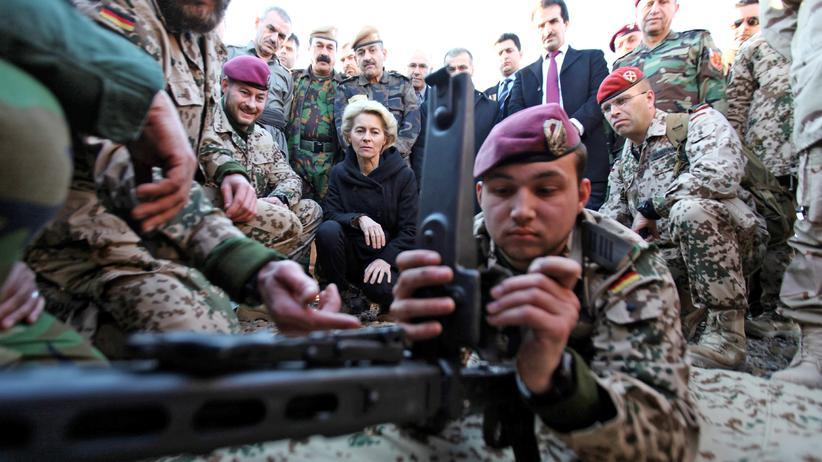 Bundeswehr im Irak: Dieser Einsatz ist gefährlich, falsch, illegal
