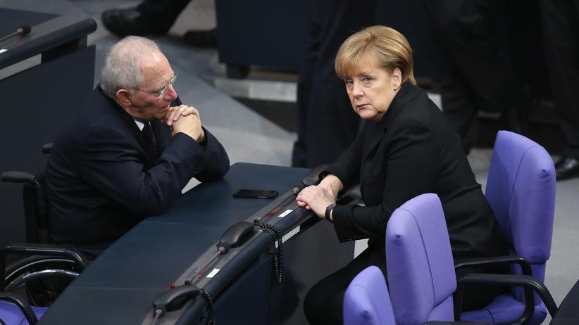 Bundesregierung Angela Merkel Wolfgang Schäuble Griechenland Euro-Zone Euro