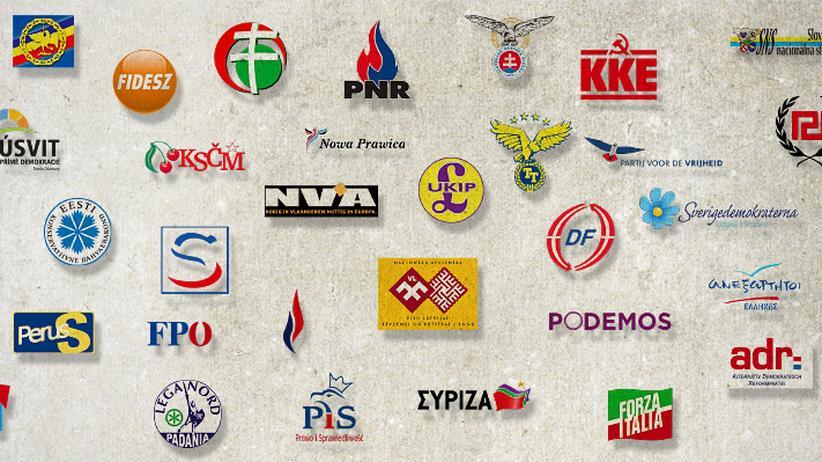 Parteien: Europa extrem