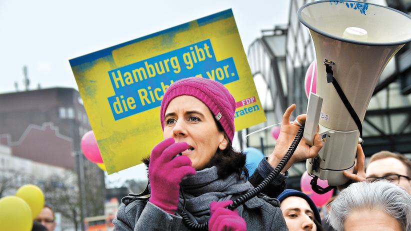 FDP Hamburg: Schmerzfreier Wahlkampf in Magenta
